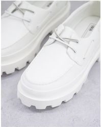 ASOS Boat Shoes - White