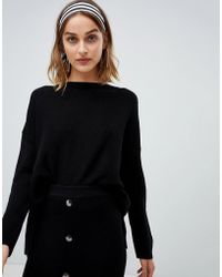 Stradivarius - Ribbed Sweater Two-piece - Lyst