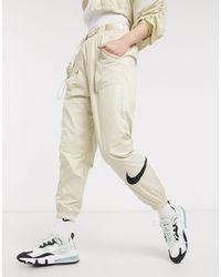 Nike Pantalones cargo - Blanco