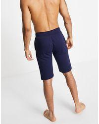Polo Ralph Lauren - Темно-синие Шорты С Логотипом Сбоку -темно-синий - Lyst