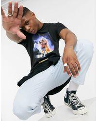 The Hundreds X Back To The Future - T-shirt con copertina nera - Nero