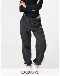 Fashionkilla Exclusive Motif jogger - Grey