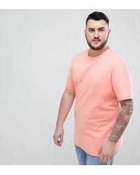 Original Penguin - Big & Tall Small Logo Crew Neck T-shirt In Pink - Lyst