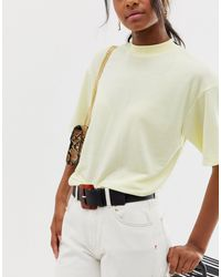 Miss Selfridge Oversized Tort Buckle Belt - Black