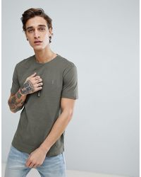 AllSaints T-shirt With Logo - Grey