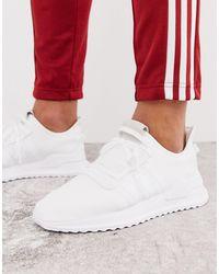 adidas Originals Белые Кроссовки Для Бега U-path-белый
