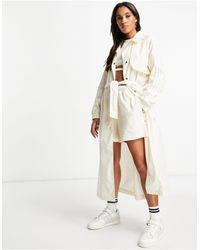 adidas Originals Adicolor - Trenchcoat - Wit