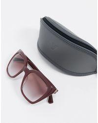 Emporio Armani Square Sunglasses - Multicolour