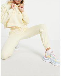Pull&Bear Желтые Джоггеры От Комплекта -желтый - Многоцветный