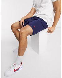 Polo Ralph Lauren Player Logo Pique Shorts - Blue