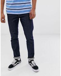 Weekday Form Skinny Jeans Rinsed - Blue