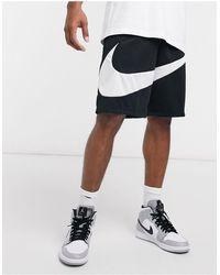Nike Basketball Swoosh Logo Shorts - Black