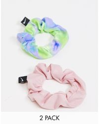 Nike Set Van 2 Haarbandjes - Roze