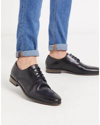 River Island Derby Shoes - Black