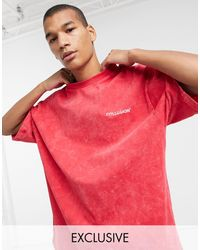 Collusion Oversized T-shirt - Red