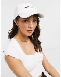 Fred Perry Graphic Cap - White
