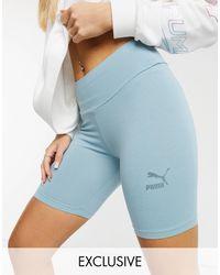 PUMA legging Shorts - Blue