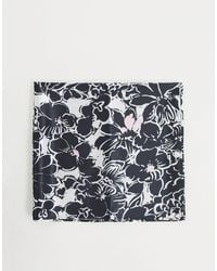 ASOS Grote Hoofdsjaal Met Bloemenprint - Meerkleurig