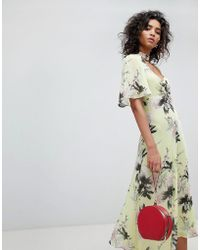 Ghost - Floral Pretty Tea Dress - Lyst