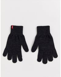 Levi's Ben Touchscreen Gloves - Grey