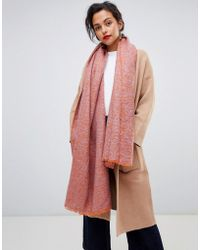 Vero Moda - Knitted Scarf - Lyst