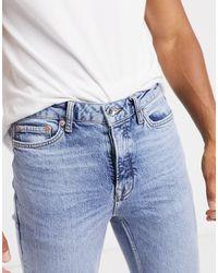 TOPMAN Organic Skinny Jeans - Blue