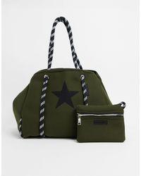 Steve Madden Lanai Shopper Bag - Black