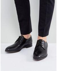 96fa8d8c648 ALDO - Zapatos Derby de cuero negro Lauriano de - Lyst