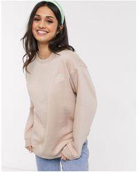 Daisy Street Oversized Sweatshirt Met Geborduurde Cherubijn - Meerkleurig