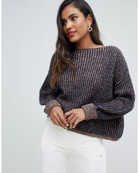 French Connection - Millie Mozart Knit Jumper - Lyst