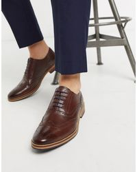 ASOS Brogue Shoes - Brown