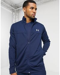 Under Armour Sportstyle Pique Track Jacket - Blue