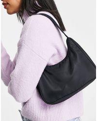 Monki Hilma Recycled Shoulder Bag - Black