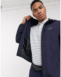 Calvin Klein Темно-синяя Куртка 24/7 Ultralite-темно-синий