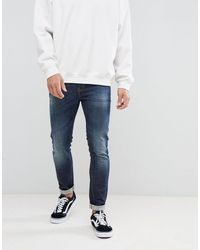 Benetton Skinny Fit Jeans - Blue