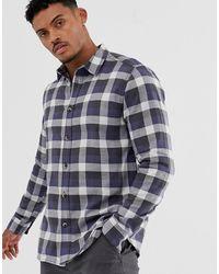 Only & Sons Geruit Overhemd - Grijs