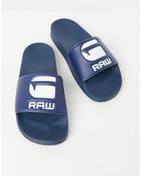G-Star RAW Cart Slides - Blue