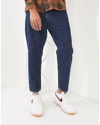 Pull&Bear Ruimvallende Jeans - Blauw