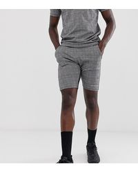 Good For Nothing Co-ord Shorts - Gray