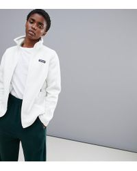 Patagonia - Classic Synchilla Jacket In White - Lyst