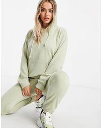 Missguided Ensemble hoodie et jogger - sauge - Vert
