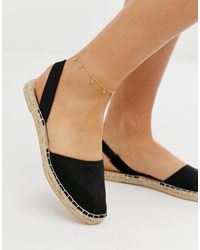 ASOS - Anklet With Crystal Drop Detail - Lyst