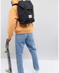 06a6ea8d7e Herschel Supply Co. - Retreat Backpack In Black - Lyst