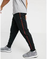 HUGO Doaky Contrast Logo joggers - Black