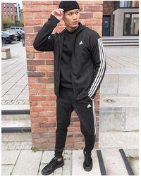 adidas Originals Черный Спортивный Костюм С 3 Полосками Adidas Training Tiro-зеленый