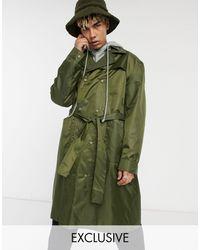 Collusion Ripstop Overcoat - Green
