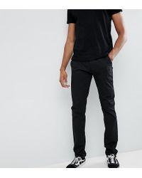 Farah - Elm Slim Fit Chino In Black - Lyst