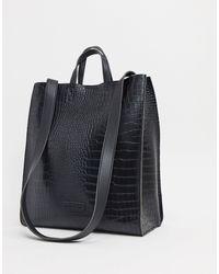 Claudia Canova Large Tote Bag - Black