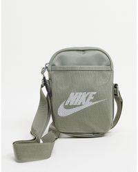 Nike Сумка Для Полетов Приглушенного Цвета Хаки Heritage-зеленый Цвет