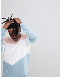 Criminal Damage - Retro Panelled Sweater - Lyst